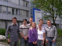 Von links: Alexander Witkowski, Andreas Friedrich, Till Rhiem, Stefanie Klein-Hitpaß, Laura Gilsbach, Sascha Struck, Philipp Eloo